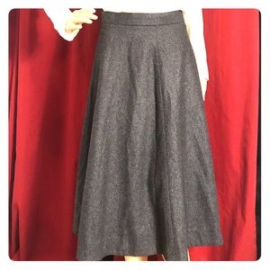 COS wool skirt